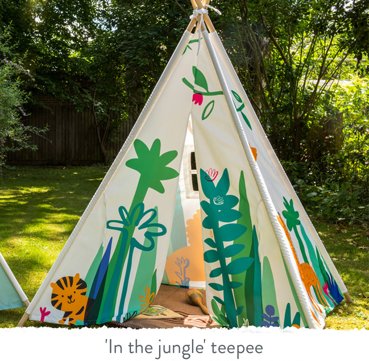 'In The Jungle' Teepee
