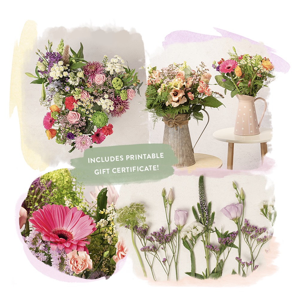 Photograph of previous subscription bouquets